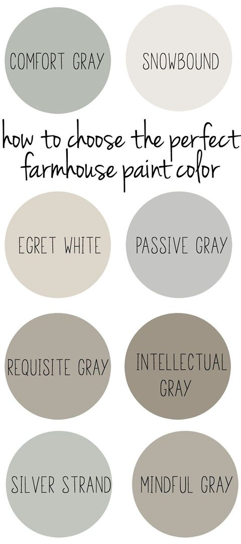 How to Choose the Perfect Farmhouse Paint Colors images