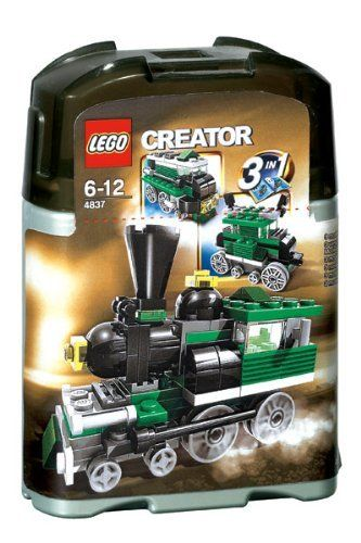 LEGO Creator Mini Train 4837 japan import | LEGO Learning ...