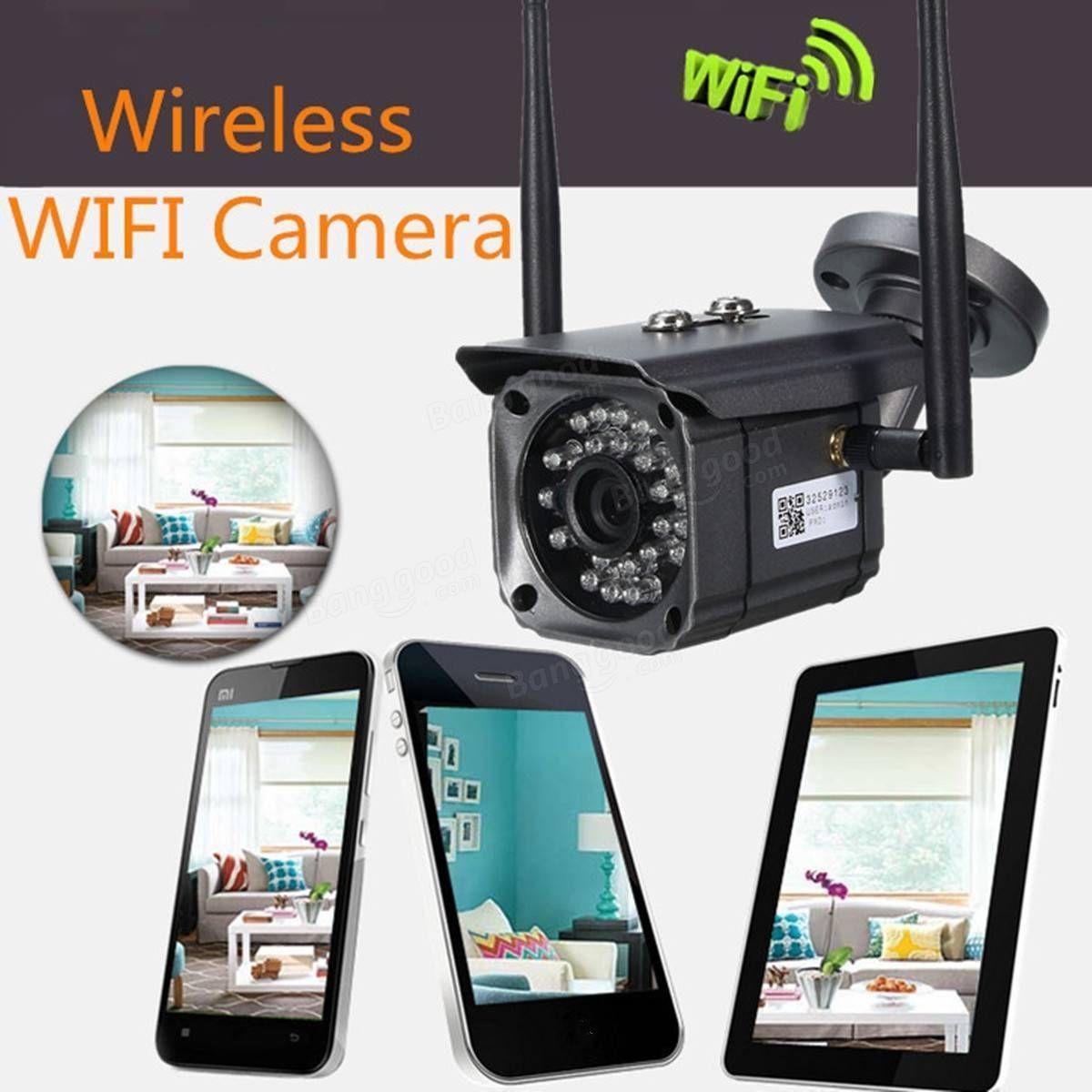 XMH Wireless WiFi HD P IP Monitor Camera IR Night Vision