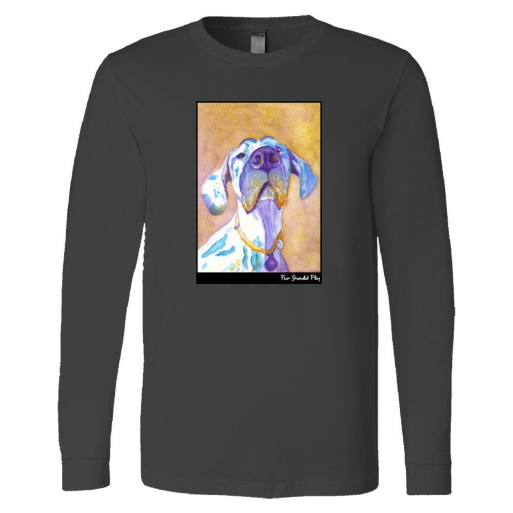 Dignified Indeed: Mens Long Sleeve Crewneck T-Shirt