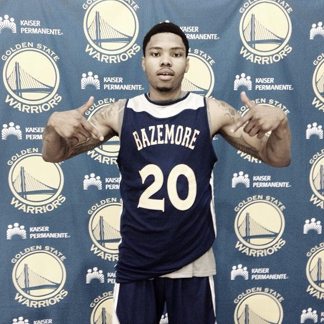 Today's #GSWCountdown is brought to you by Kent Bazemore. There's still time to enter today's #AuthenticFan contest! Details: warriors.com/countdown/fanfridays