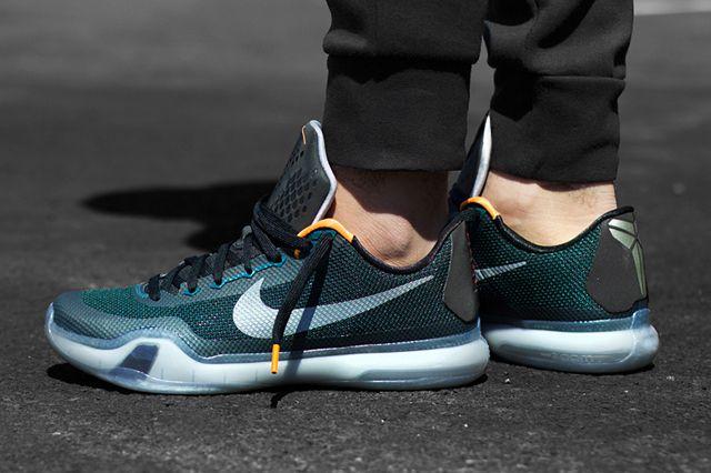 Nike Kobe 10 Flight TealBlackBright CitrusShoesa0299