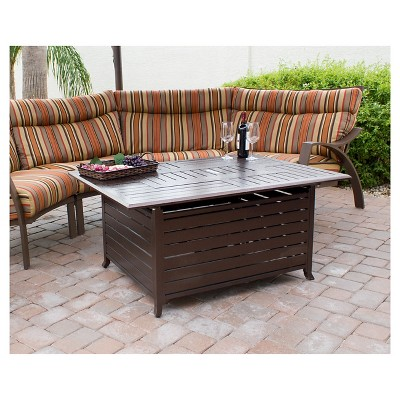 Az Patio Heaters Gas Fire Tables Espresso Brown Fire Pit Table Patio Heater Fire Pit Furniture