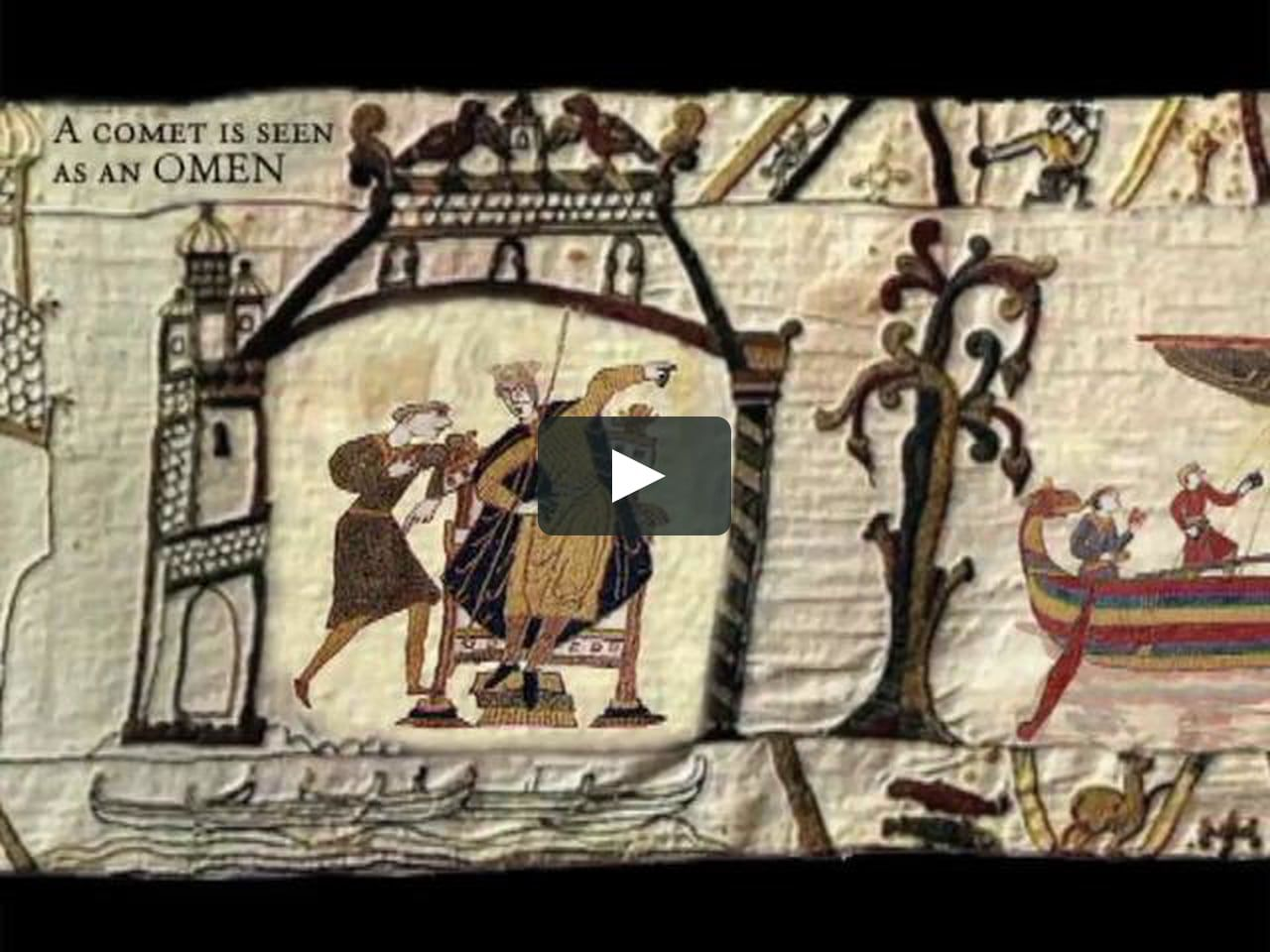 The Animated Bayeux Tapestry Was Created As A Student