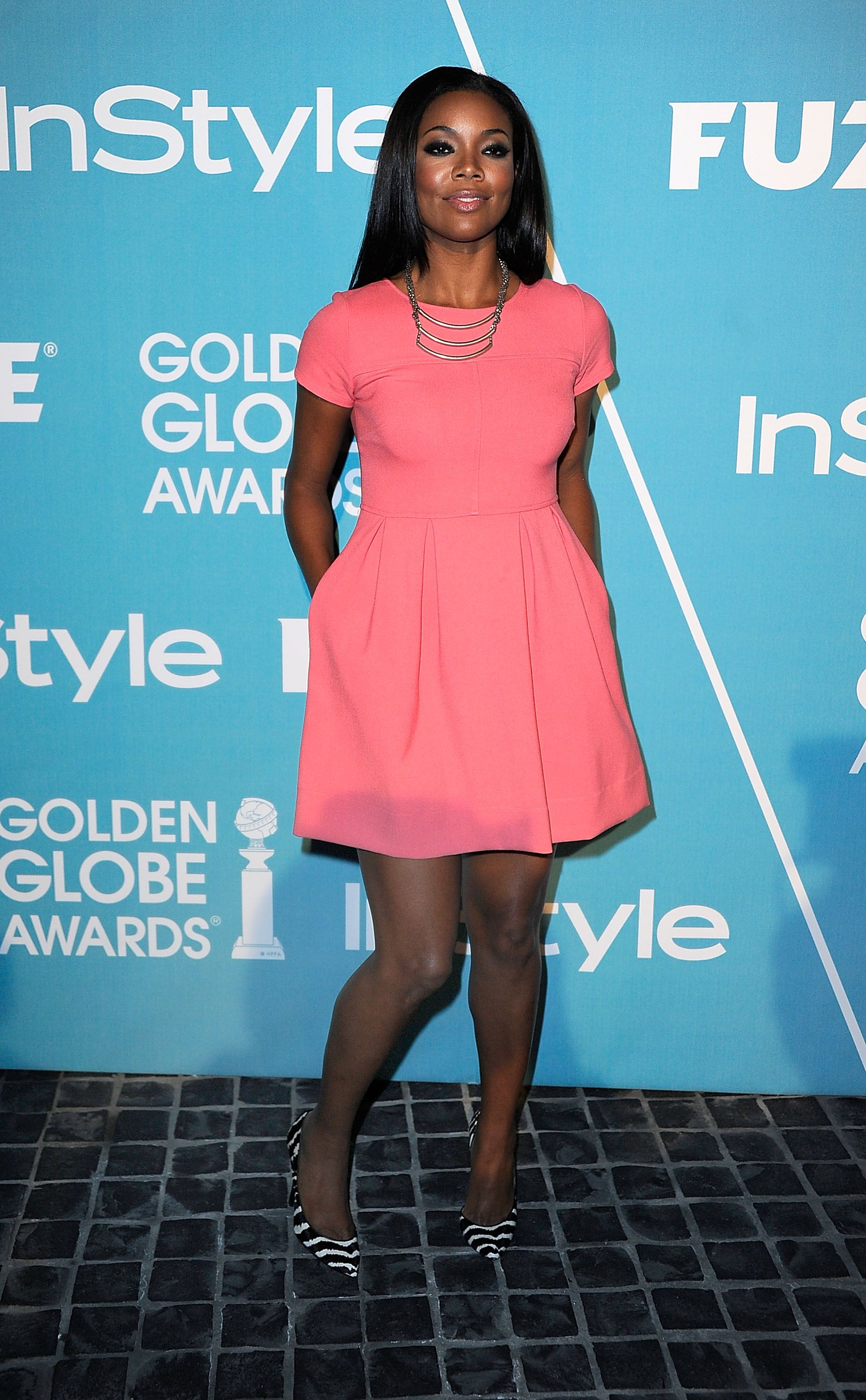 Gabrielle Union at The Hollywood Foreign Press   CUTE Prof. and ...