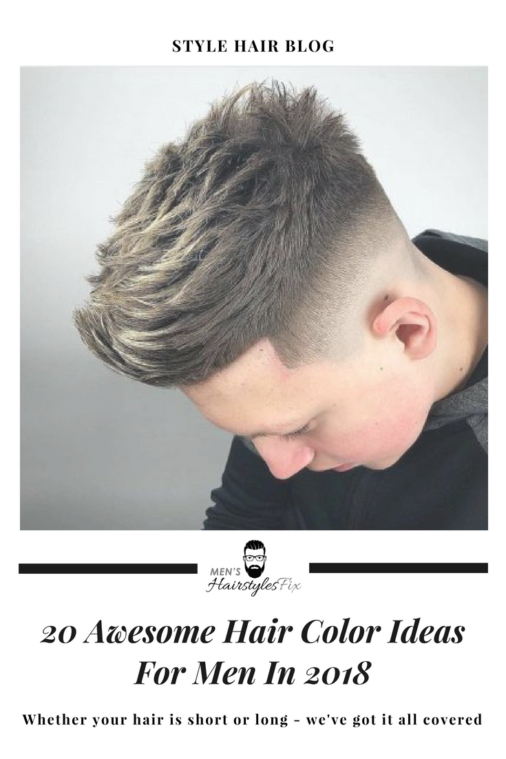 awesome hair color ideas for men in awesome hair hair
