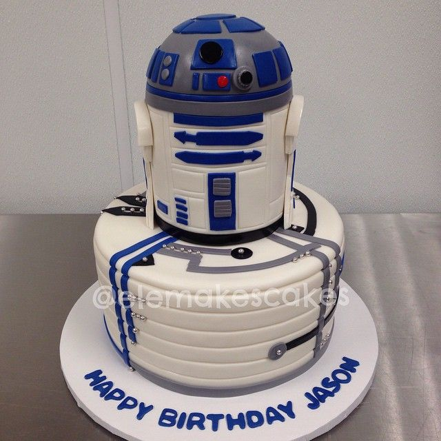 R2d2 Birthday Cake For All Your Cake Decorating Supplies Please