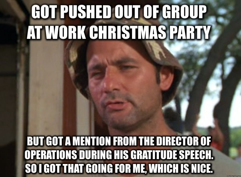 Work Christmas Party Oops