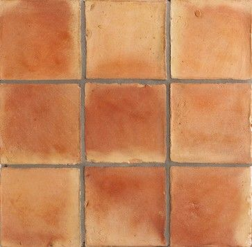 Spanish Handmade Terracotta Tile Mediterranean Wall And Floor