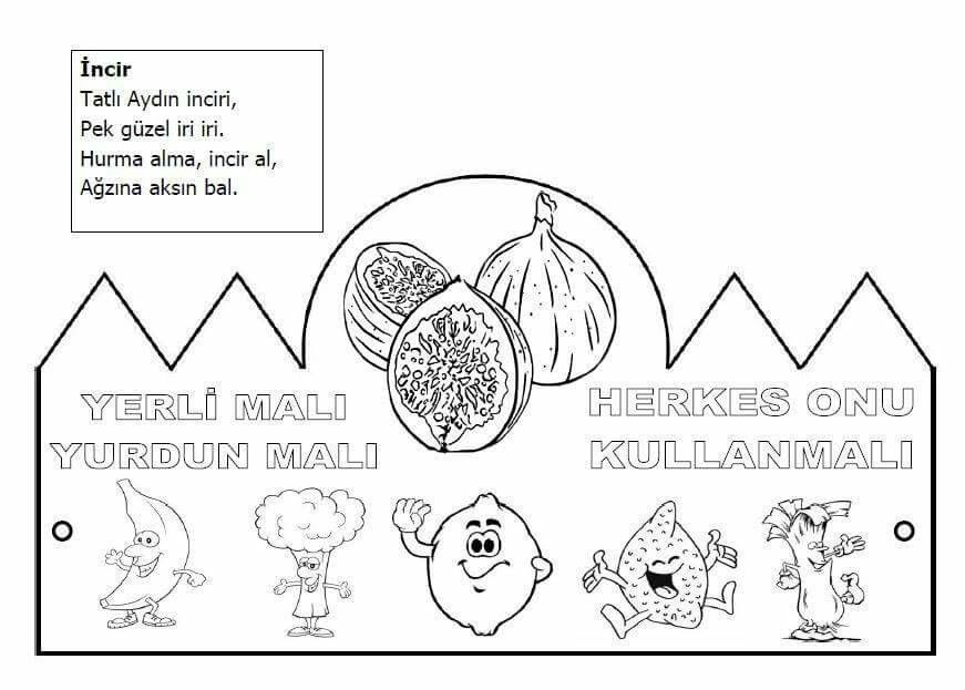 Yerli Malı Okuooncesi Preschool Guns Ve Coloring Pages