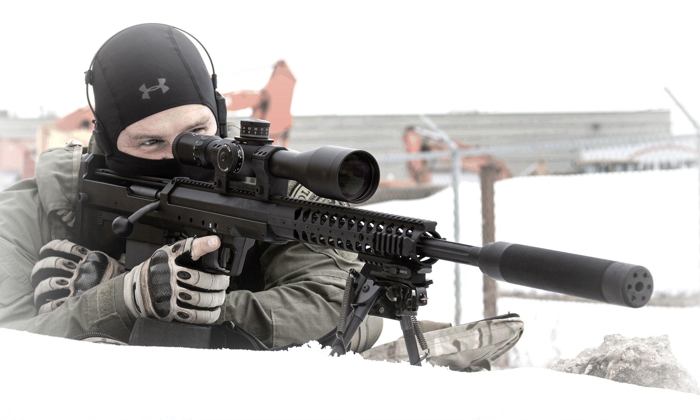 Gun review desert tactical arms stealth recon scout dta srs rifle - Guns Desert Tech Swat Srs