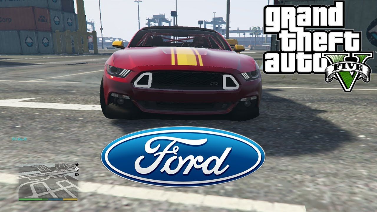 Gta 5 Ford Mustang Gt Drift Without Using Any Drift Mod Gaming