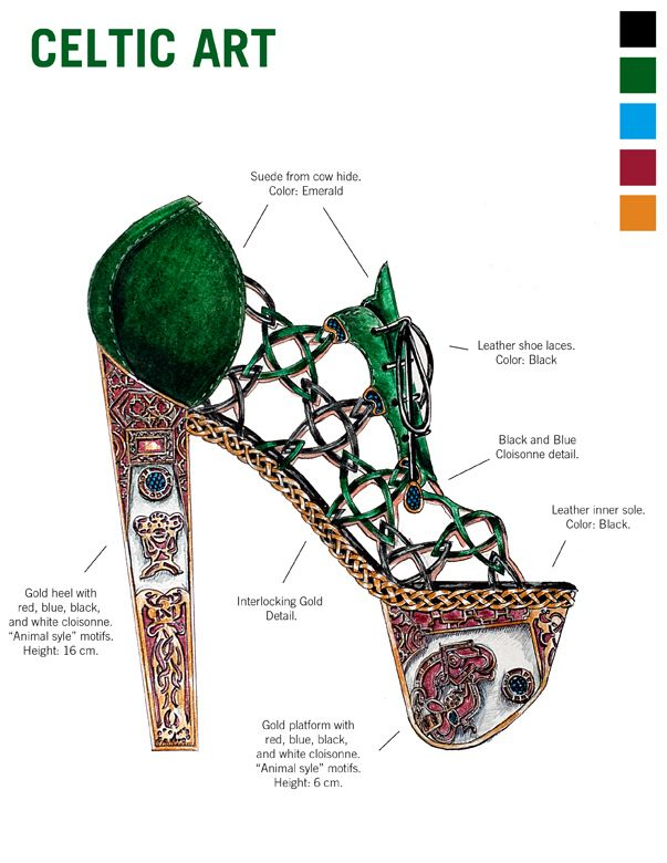 Photo of Learn Art History Through 10 Stunning Pairs Of High Fashion Heels