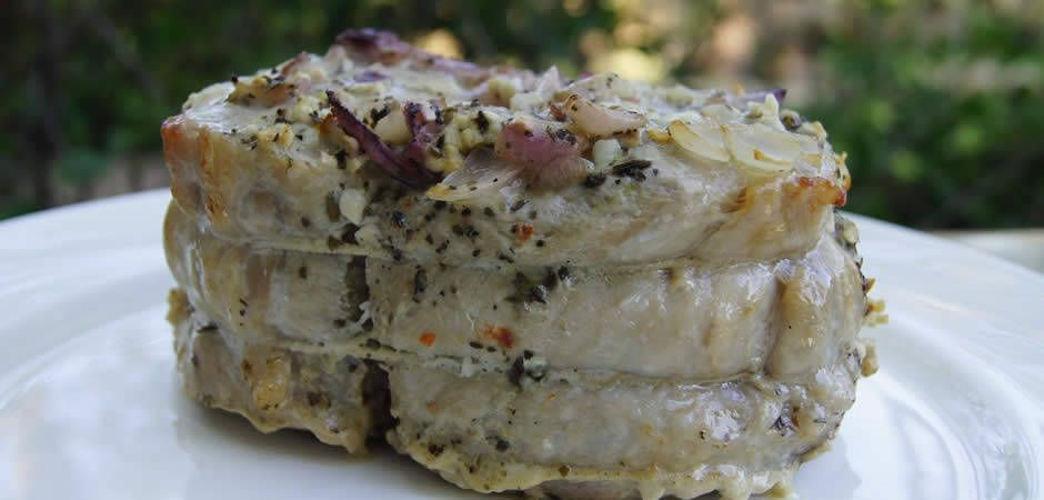 Photo of Baked pork with mustard sauce – Cucinarefacile.com-Pork with …