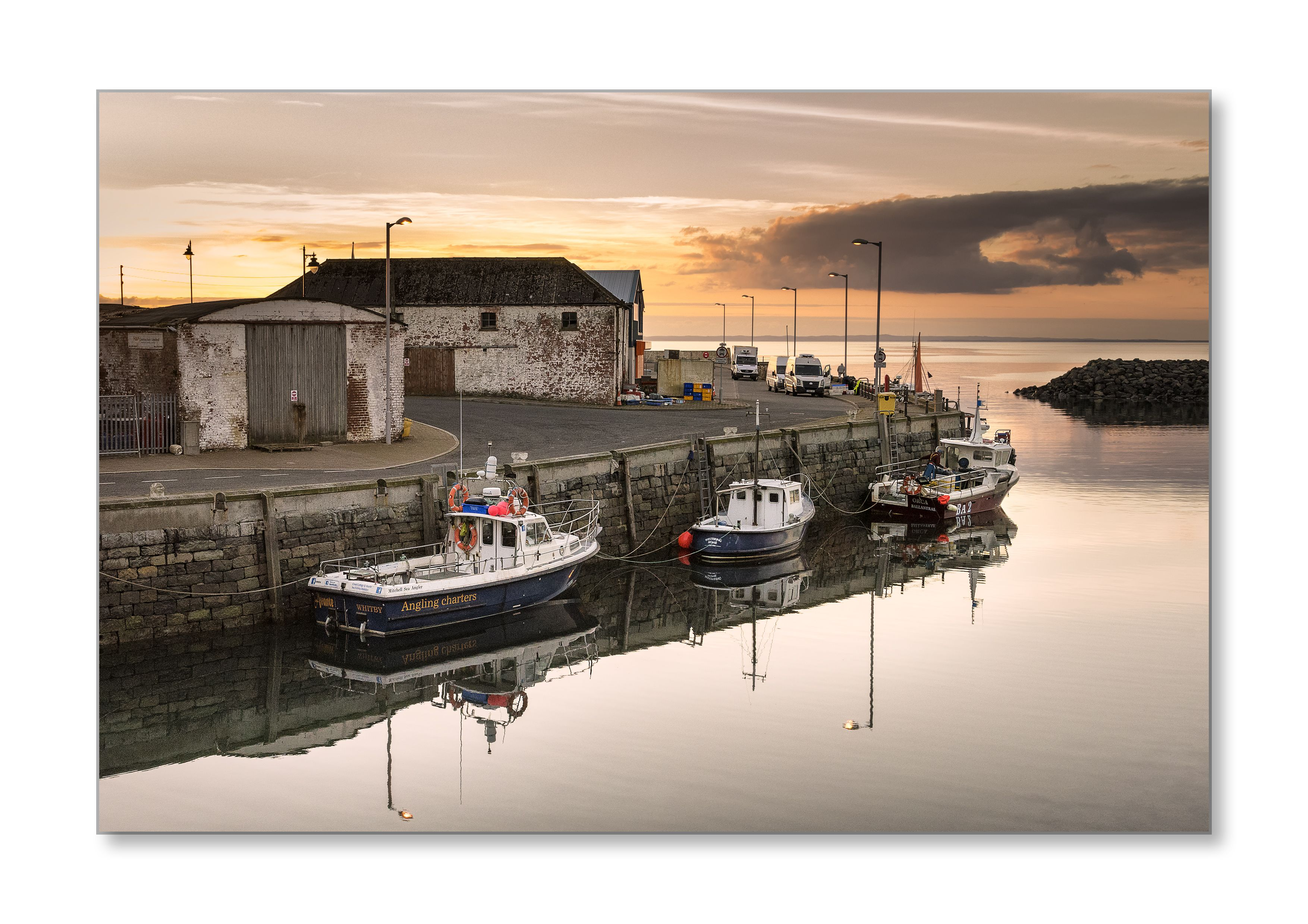 Port William Harbour  Check it out on my Flickr page  www