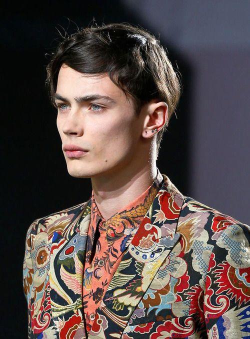 Simon Kotyk, @ Dries Van NotenParis Fashion Week SS14#simonkotyk #driesvannoten #pfw
