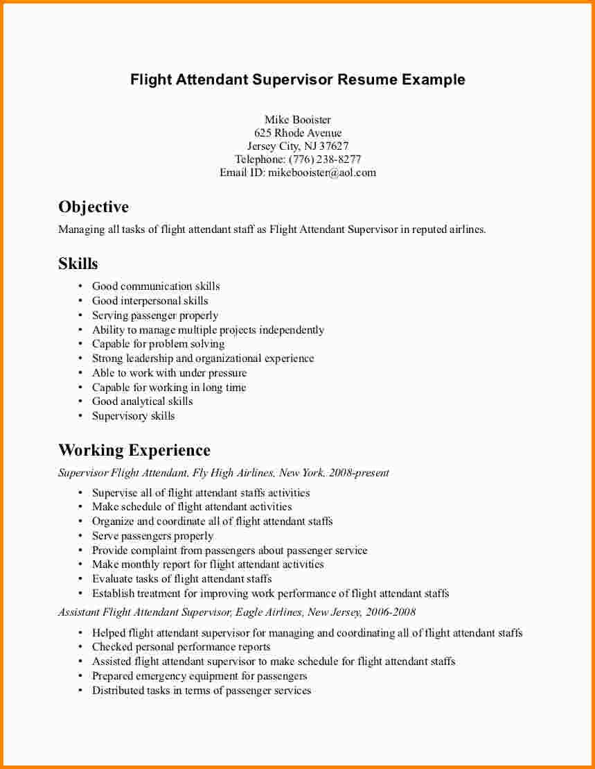 Air France Flight Attendant Cover Letter 7 Flight Attendant Resume No Experience Flight Attendant