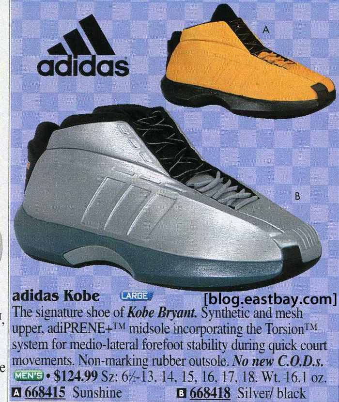 71e574503505 adidas Kobe Spring Sports 2001. Did you have these when they launched in  2001