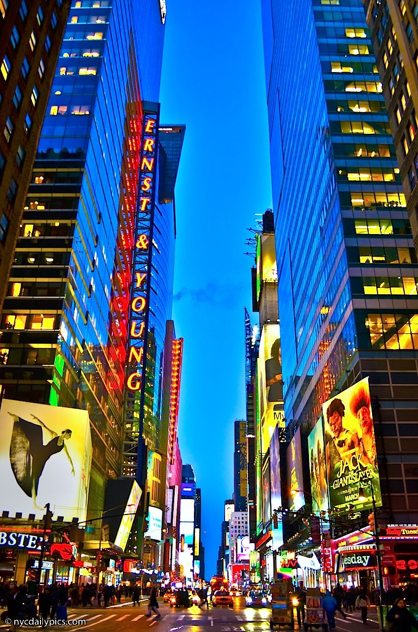 Times Square - This area of New York City that is most ...