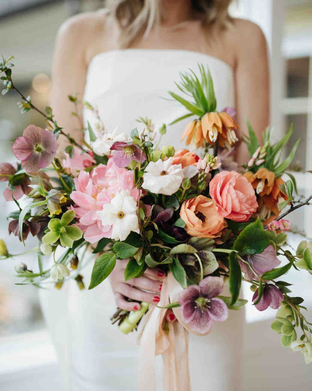 Ideas For Your Spring Wedding Bouquet Martha Stewart Weddings An