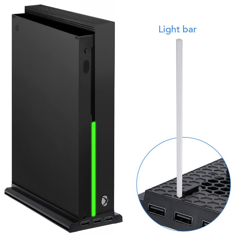 Lictin Xbox One X Vertical Stand Xbox One X Cooling Fan With 3