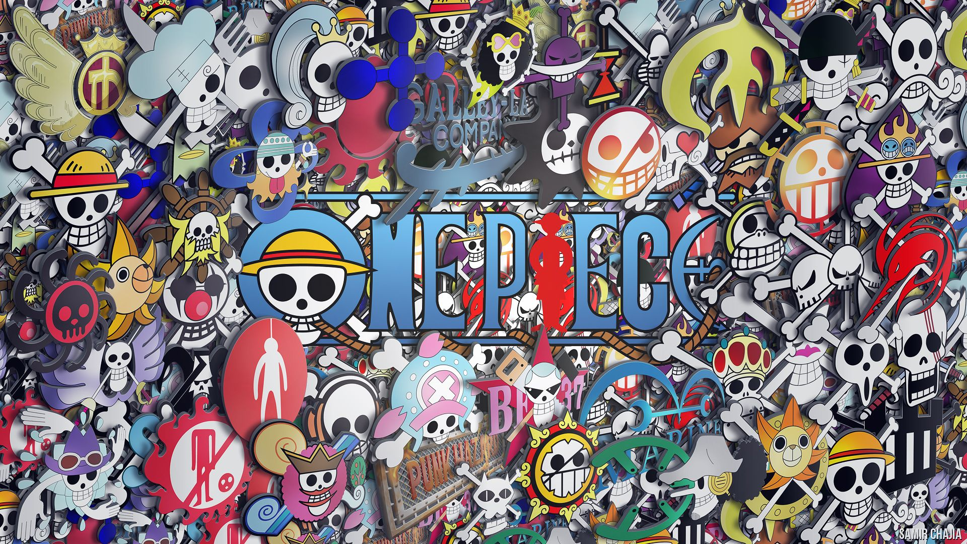 One Piece Hd Wallpaper 1920x1080 One Piece Wallpaper Iphone One Piece Logo Character Wallpaper