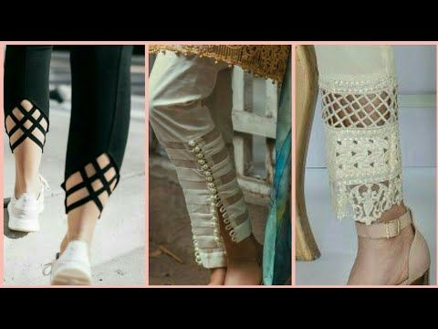 798f3fb2db821 New Trousers Designs 2018 - Latest Fashion - YouTube | Trousers in ...