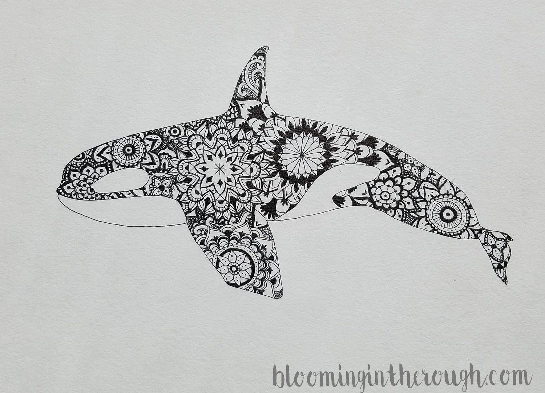 Sea Creature Art Series