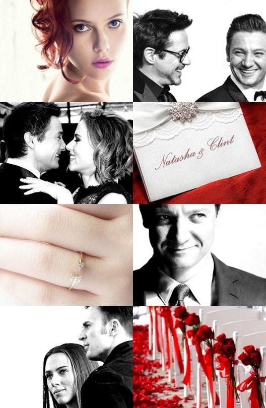 clintasha wedding au || After saving a world again Natasha