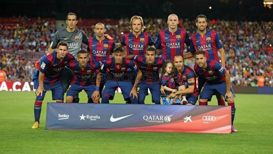 Trofeo Joan Gamper Barça 6 - 0 Club León  #FCBarcelona