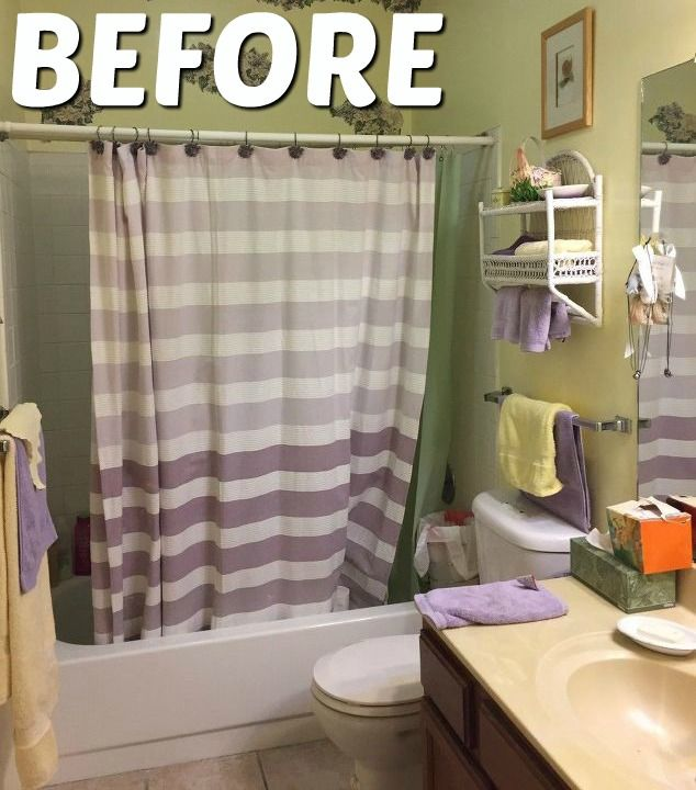 Great Mommy Testers How To Renovate A Bathroom On A Budget Inexpensive Bathroom Renovation Behr Marquee Pa Bathrooms Remodel Trendy Bathroom Budget Bathroom