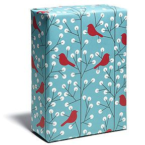 love this wrapping paper from snow & graham