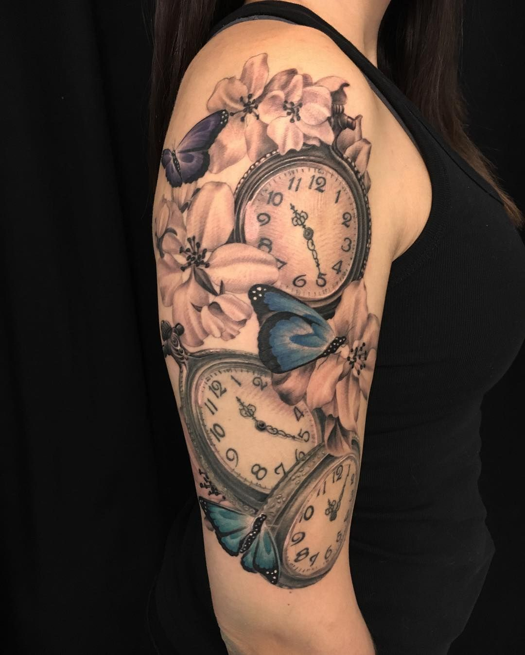 80 Timeless Pocket Watch Tattoo Ideas - A Classic and ...
