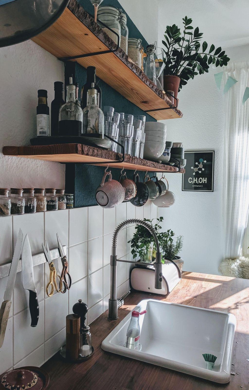 küchenliebe  diyregale  küche