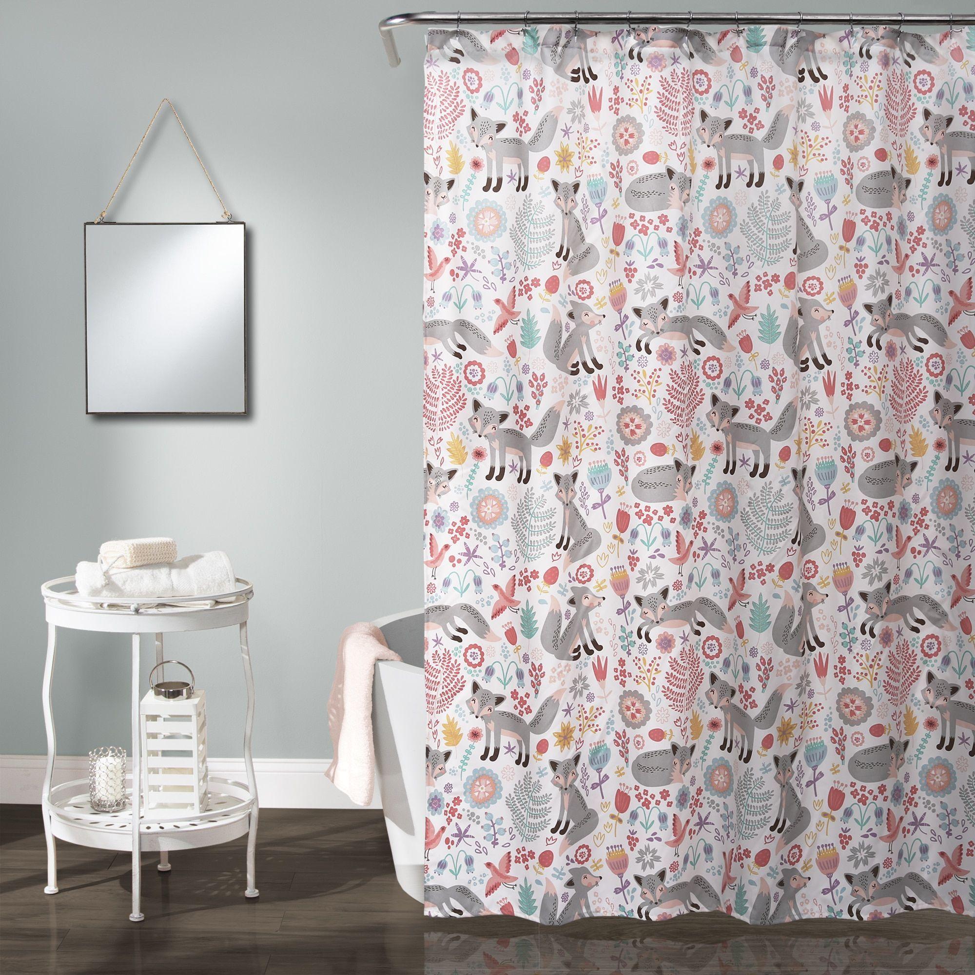 Lush Decor Pixie Fox Shower Curtain | Overstock.com Shopping   The Best  Deals On
