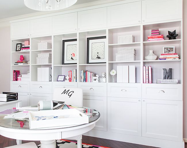My Ikea Home Office marker girl home office makeover check out my ikea hack for my