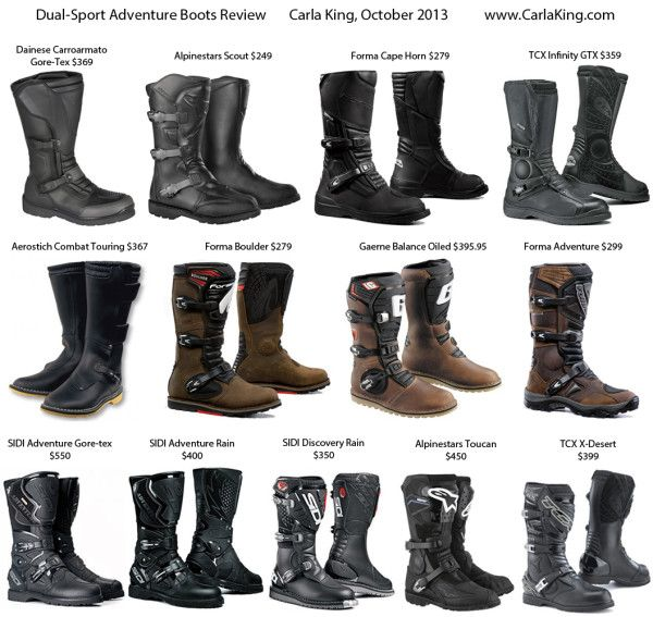 Dual Sport Adventure Touring Motorcycle Boot Review