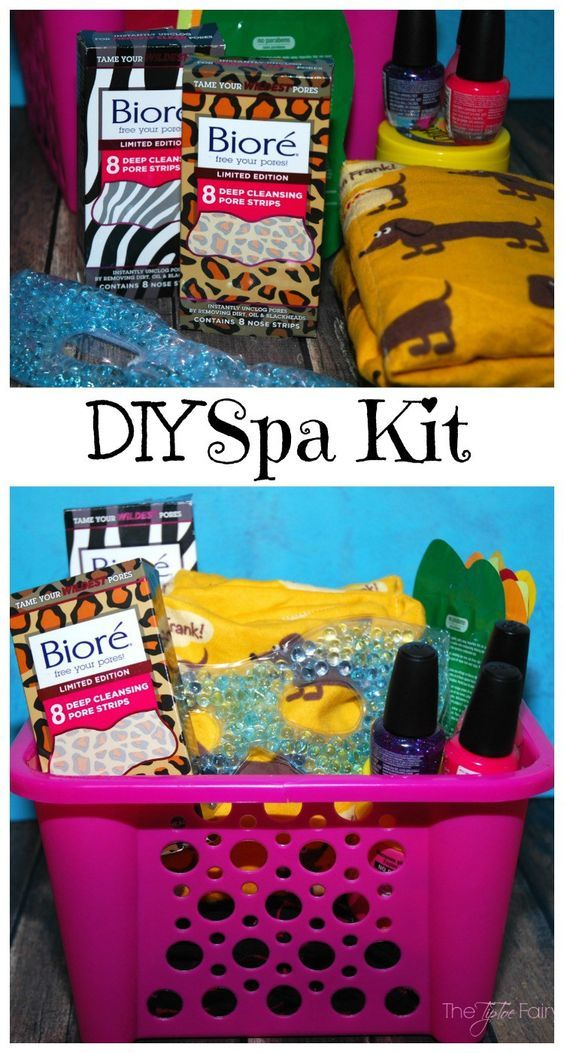 Make a mother daughter spa kit diy spa fun diy and spa make a mother daughter spa kit solutioingenieria Choice Image