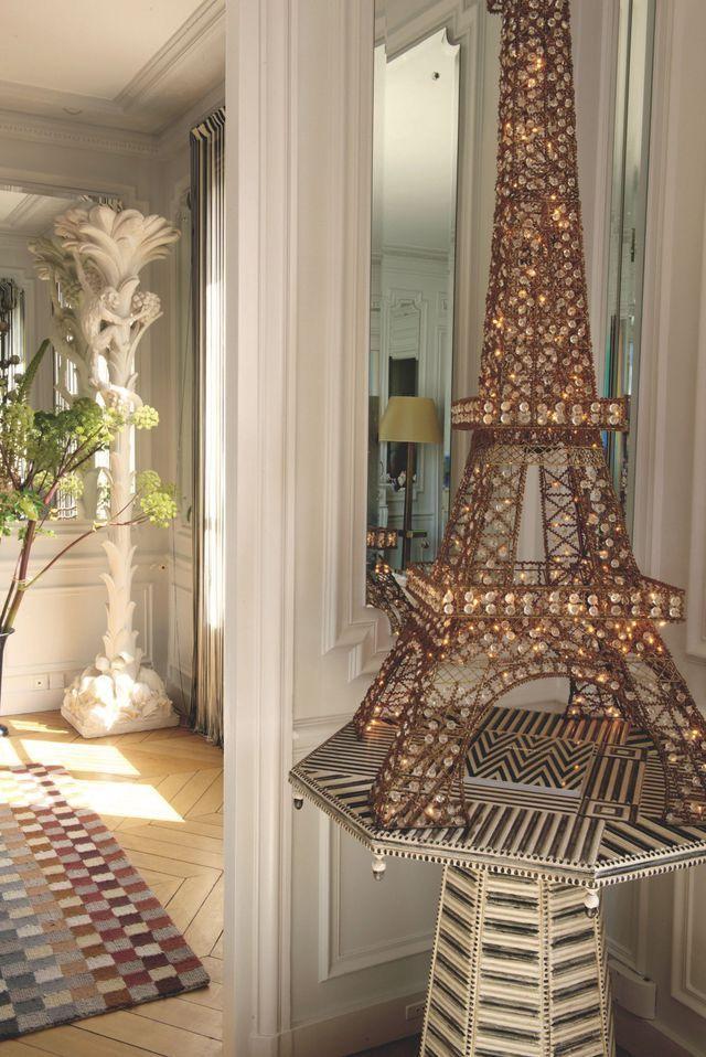 Appartement A Paris Original Colore Et Design De Rosita Missoni Appartement Paris Appartement Colore Appartement