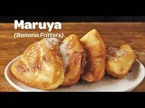 watch how to make maruya cooking yummy ph banana fritters fritters banana recipes banana fritters