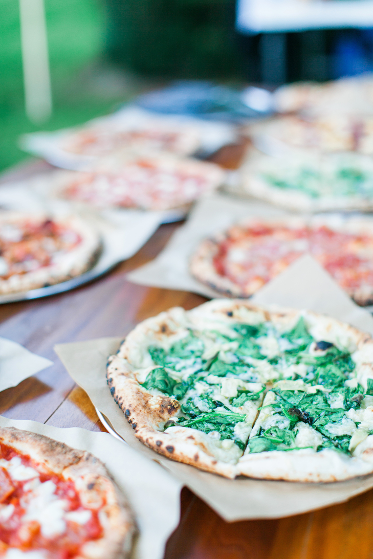 Wood-Fired Pizza Dinner | Private Residence – Saugatuck, Michigan #backyard #wedding #pizza