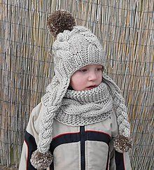 Detské čiapky - vrkočikovy setik - 4851503_