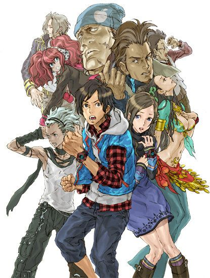 Zero Escape 999 With Images Character Art Anime Game