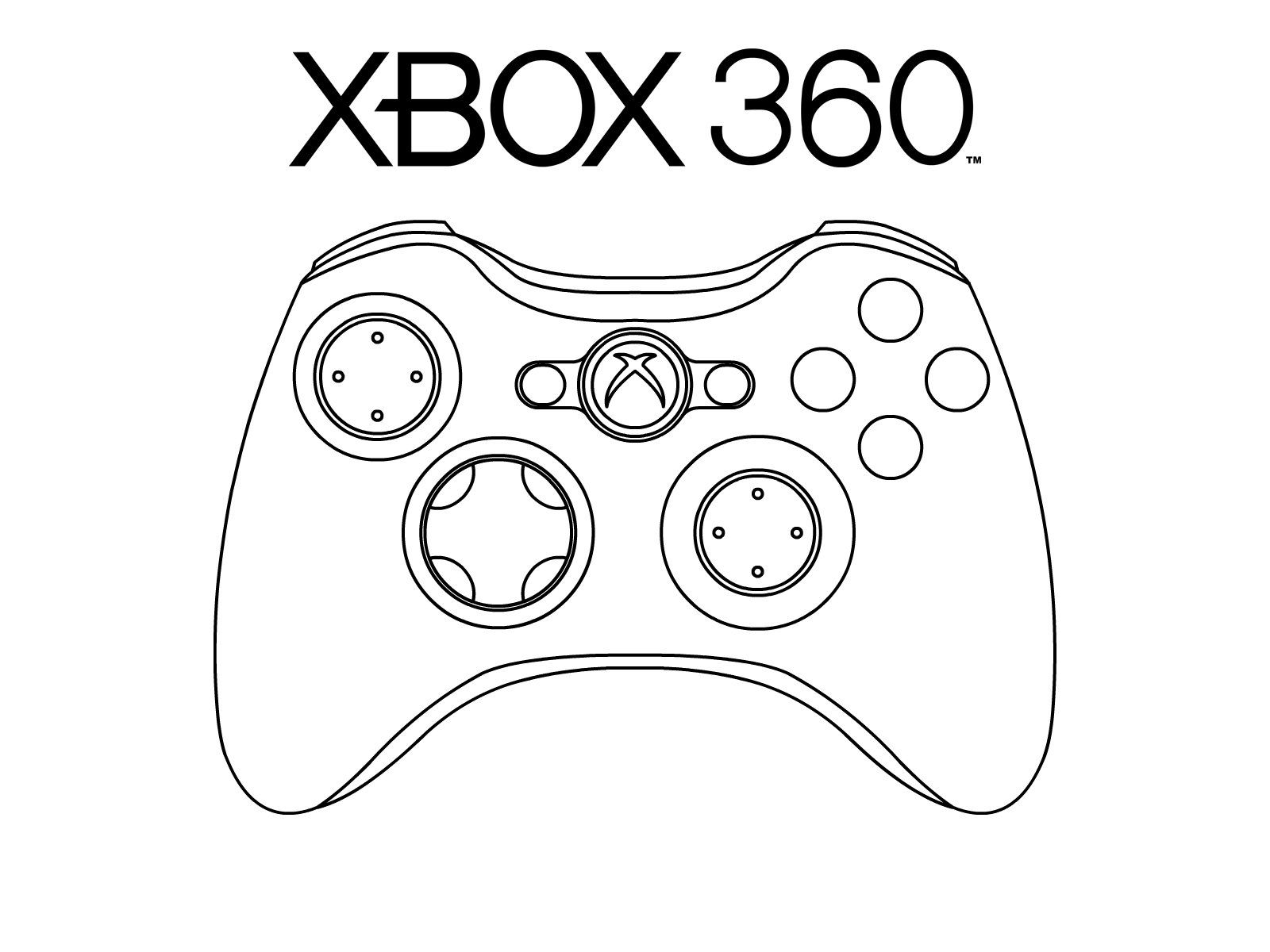 Coloring page xbox -  Http Bubblecraze Org Best In