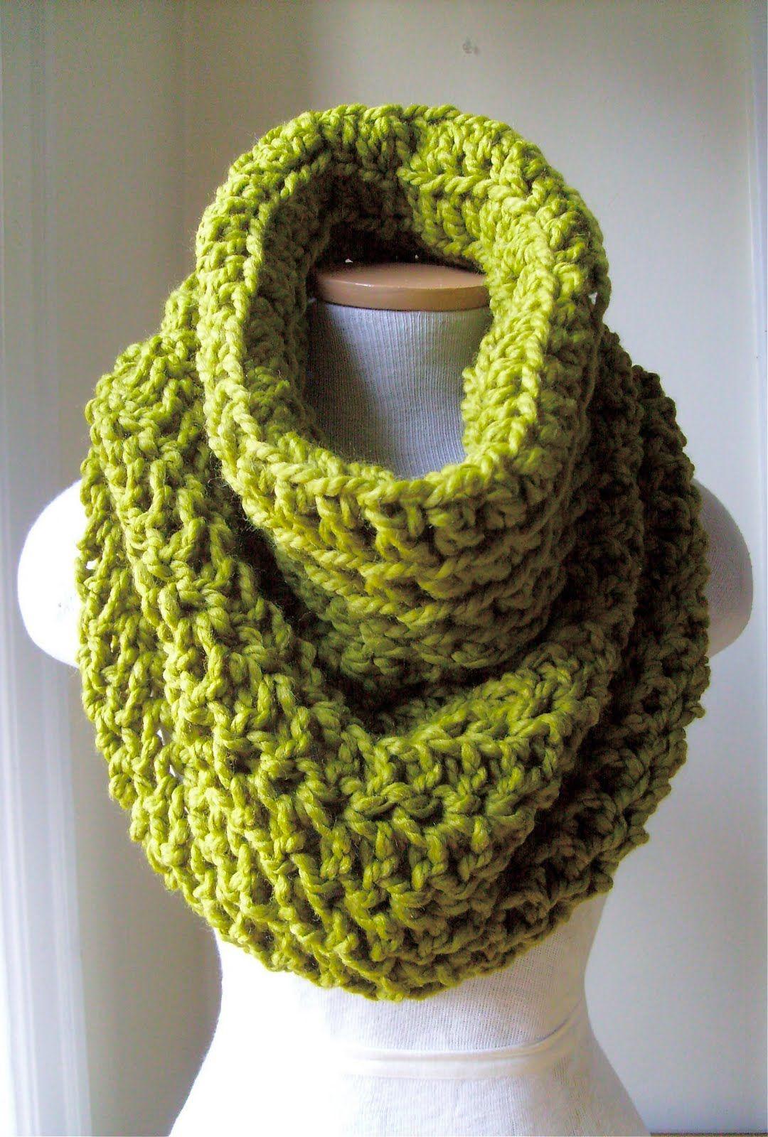 crochet cowl   Crochet: scarf   Pinterest   Schals, Rundschal und ...