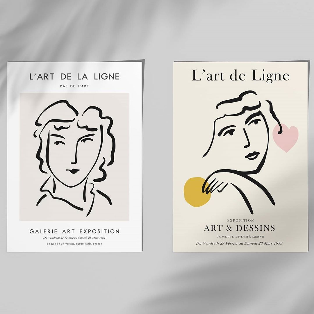 """𝗣𝗦𝗧𝗥 𝘀𝘁𝘂𝗱𝗶𝗼 on Instagram: """"New Henri Matisse art exhibition prints. Inspired on the French master! Check out now. ❤️ #poster #exhibition #exhibitiondesign…"""""""