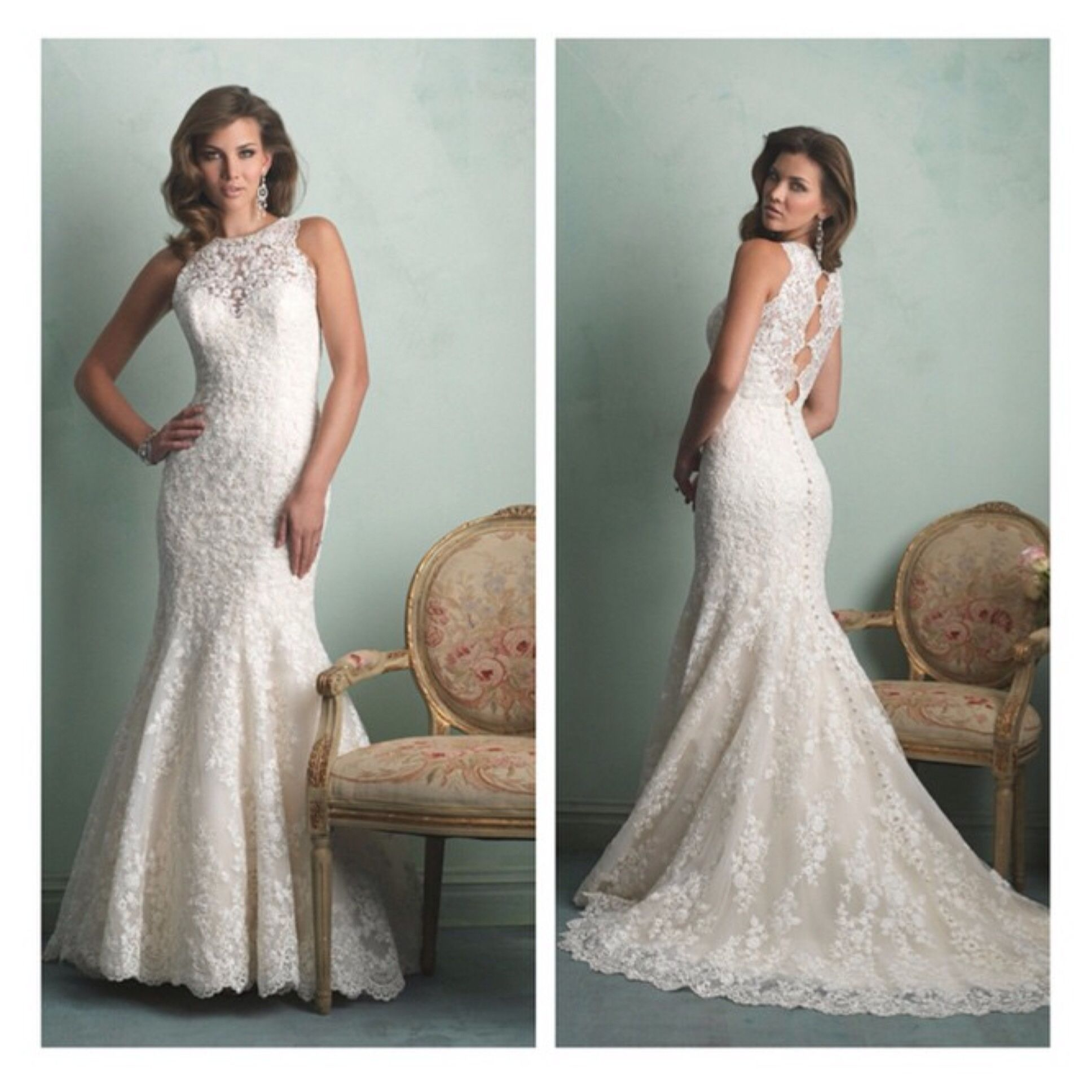 Wedding dresses fresno  Allure Style  is now available at Mia Bella Call to make an