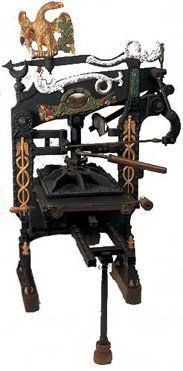 Columbian Eagle Press | Old World Printing Press | Prints