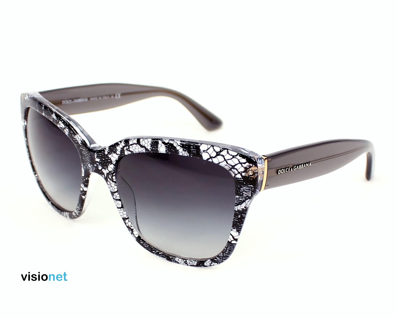 Lunettes de soleil Dolce & Gabbana DG 4226 Acétate Cristal - Noir - 202.00  EUR