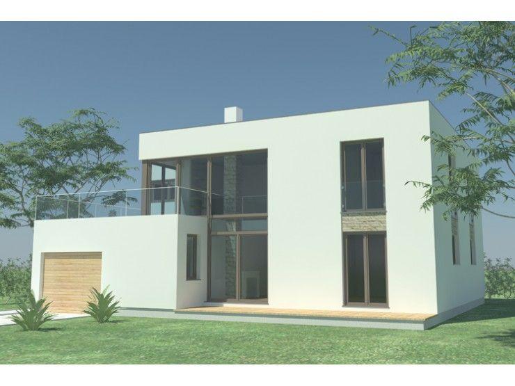 Fertighaus modern flachdach  PROMA - #Einfamilienhaus von STIMMO Hausbau GmbH | HausXXL ...